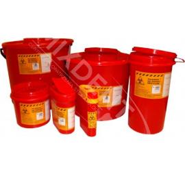 Pojemnik na odpady medyczne - igły 0.2L