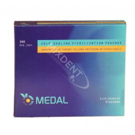Torebki do sterylizacji MEDAL 57 x 100 mm