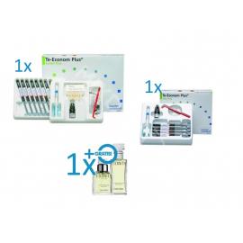 Te-Econom Plus System Pack 8x4g + Te-Econom Plus Intro Pack 4x4g + Perfumy Calvin Klein