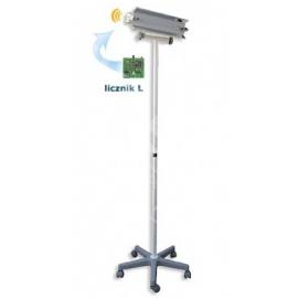 Lampa bakteriobójcza bezpośredniego działania NBV 15 PL z wewnętrznym licznikiem czasu pracy bez wyświetlacza