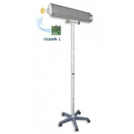 Lampa bakteriobójcza bezpośredniego działania NBV 2 x 30 PL z wewnętrznym licznikiem czasu pracy bez wyświetlacza
