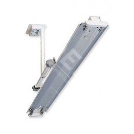 Lampa bakteriobójcza bezpośredniego działania NBV 2 x 30 S LW z licznikiem czasu pracy z wyświetlaczem 4-polowym LED