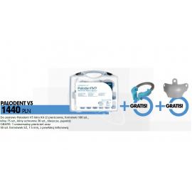 Palodent V3 Intro Kit + 1 pierścień uniwersalny + 50szt formówek EZ 7,5ml z powłoką teflonową