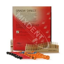 GC Gradia Direct zestaw 7x strzykawka 2.7ml