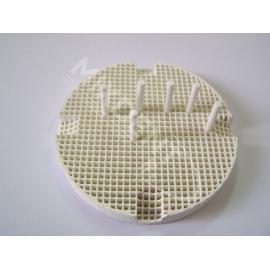 Podstawka porcelanowa okrągła z pinami ceramicznymi