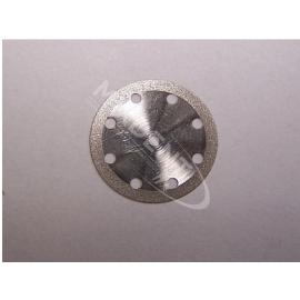 Separator z nasypem diamentowym 0,15 mm dwustronny-wentylowany, kółeczka