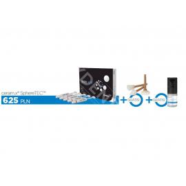 Ceram.X One SphereTEC + 10 x gumka Enhance do polerowania + Prime&Bond Universal 4ml