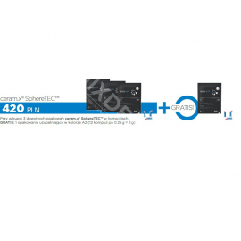 3 x zestaw kompiul Ceram.X One SphereTEC + 1 x zestaw uzupełniający Ceram.X One SphereTEC A2 (12x0,25g)