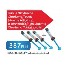 3 x Charisma Topaz strzykawka 4g + 1 x Charisma Topaz A2 strzykawka 4g