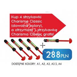 4 x Charisma Classic strzykawka 4g + 1 x Charisma Classic A2 strzykawka 4g