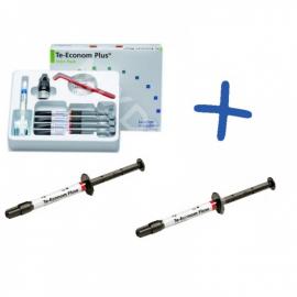 Te-Econom Plus Intro Pack 4x4g + Te-Econom Flow strzykawka 2g A2 + Te-Econom Flow strzykawka 2g  A3