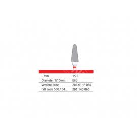 201 XF HP 060 Frez IQDENT z drobnymi krzyżowymi nacięciami