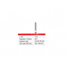 292 XF HP 023 Frez IQDENT z drobnymi krzyżowymi nacięciami