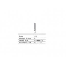 292 UF HP 023 Frez IQDENT z drobnymi spiralnymi nacięciami