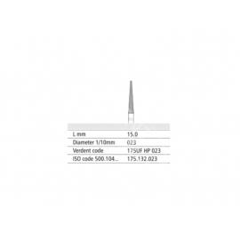 175 UF HP 023 Frez IQDENT z drobnymi spiralnymi nacięciami