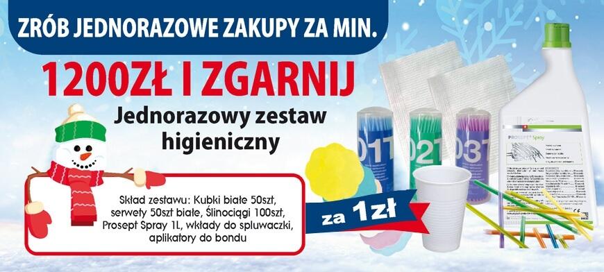 Promocja I LOVE MIXDENT Zima 1200PLN