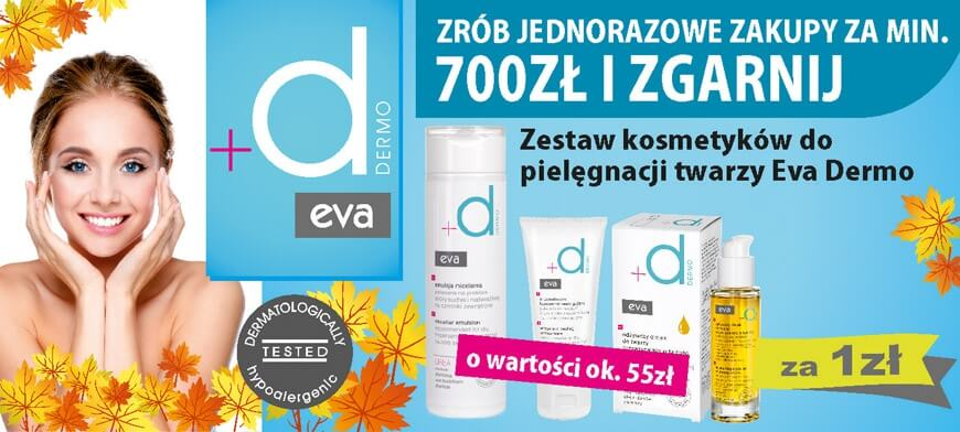 Promocja MIXDENT Eva Dermo 700PLN