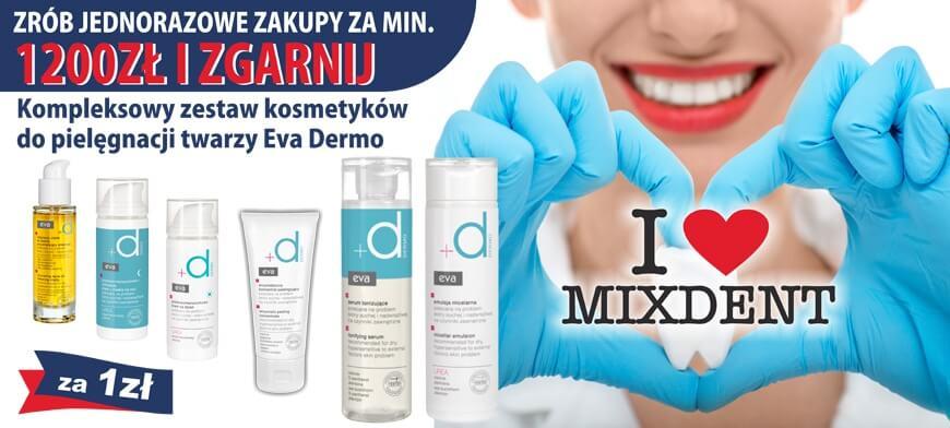 Promocja MIXDENT Eva Simple 1200PLN