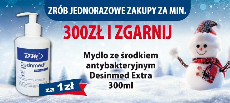 Promocja I LOVE MIXDENT Zima 2018 Desinmed Extra 300PLN