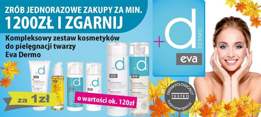 Promocja MIXDENT Eva Dermo 1200PLN