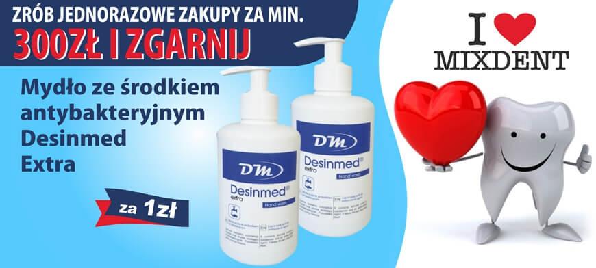 Promocja I LOVE MIXDENT Desinmed Extra 300PLN