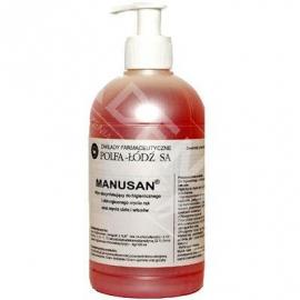 Płyn dezynfekcyjny Manusan 500ml z pompką