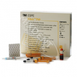 Filtek P60 zestaw 3x4g + Adper Single Bond 3ml