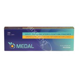 Torebki do sterylizacji MEDAL 90 x 260 mm 200szt