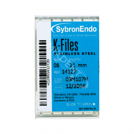 K-Files Sybron Endo 6szt