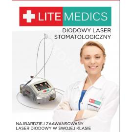 Diodowy laser stomatologiczny LITEMEDICS do zabiegów na tkankach miękkich