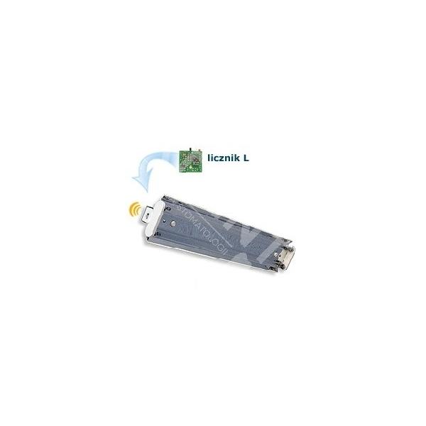Lampa bakteriobójcza bezpośredniego działania NBV 2 x 30 NL z wewnętrznym licznikiem czasu pracy bez wyświetlacza