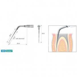 E8D - Końcówka do endodoncji z nasypem diamentowym do usuwania drobin