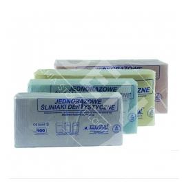 Śliniaki stomatologiczne z kieszonką Mustaf 100 szt