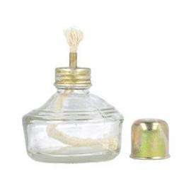 Palnik spirytusowy szklany