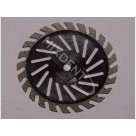 Separator z nasypem diamentowym 0,15 mm dwustronny-cięty z wentylacją