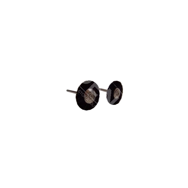 Szczoteczka czarna okrągła - twarda