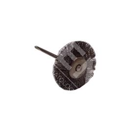 Szczoteczka stalowa okrągła do polerowania metalu