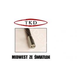 Rękaw silikonowy TKD do turbiny ze światłem