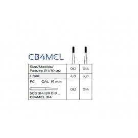 CB4MCL FG Wiertło do cięcia koron IQDENT Premium stożek