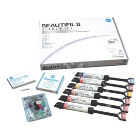 BEAUTIFIL II 6 Cosmetic Kit Shofu