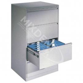 Szafka kartotekowa 4- szufladowa 2- rzędowa na format A4