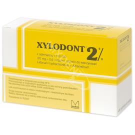 Xylodont 2% z adrenaliną 1:100 000 Molteni