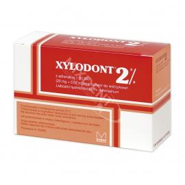 Xylodont 2% z adrenaliną 1:50 000 Molteni