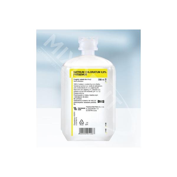 Sól Fizjologiczna (Natrium chloratum) fres 0,9% 250ml