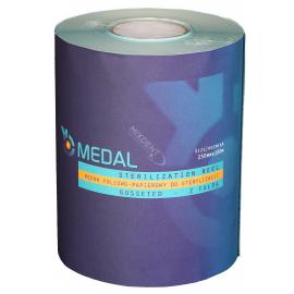 Rękaw do sterylizacji z fałdą MEDAL 25cm x 100m