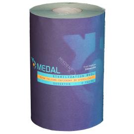 Rękaw do sterylizacji z fałdą MEDAL 30cm x 100m