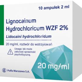 Lignocainum hydrochloricum 2% Polfa 10 ampułek x 2 ml