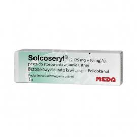 Solcoseryl, pasta do stosowania w jamie ustnej 5g MEDA