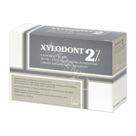 Xylodont 2% z adrenaliną 1:80000 Molteni