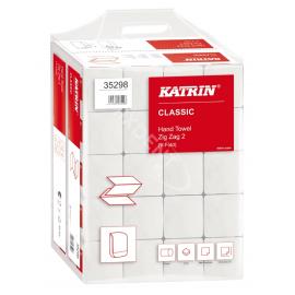 Ręczniki papierowe Katrin Classic składane ZZ 2 (Zig Zag 2) 20 x 200szt HANDY PACK